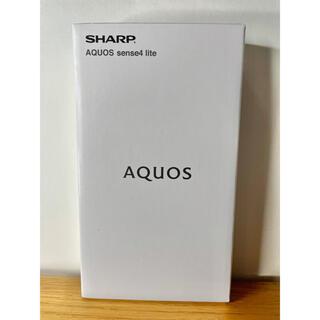 アクオス(AQUOS)の【SIMフリー】SHARP AQUOS sense4 lite SH-RM15(スマートフォン本体)