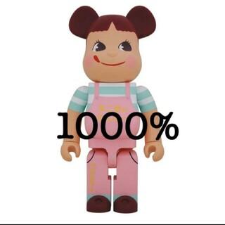 BE@RBRICK ベアブリック ファミリータウン ペコちゃん 1000%(その他)