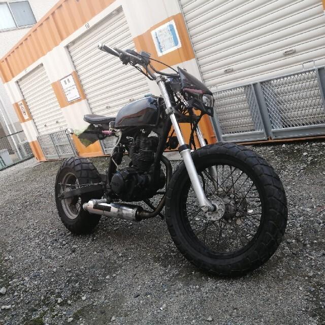 ヤマハ(ヤマハ)のtw200 ストファイ×スクランブラー 自動車/バイクのバイク(車体)の商品写真