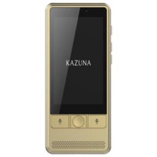 CG 新品 自動翻訳機 KAZUNA eTalk5 ゴールド 2年無料SIM同梱(旅行用品)