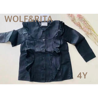 コドモビームス(こども ビームス)の【新品】WOLF&RITA トップス ブラウス 4Y(ブラウス)
