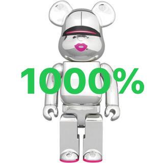 メディコムトイ(MEDICOM TOY)のBE@RBRICK SORAYAMA x 2G SILVER Ver.1000%(その他)