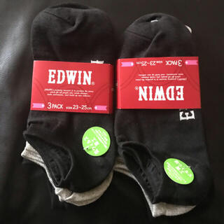 エドウィン(EDWIN)のEDWIN 靴下6足+(1足プレゼント)=7足  23〜25cm 抗ウィルス加工(ソックス)