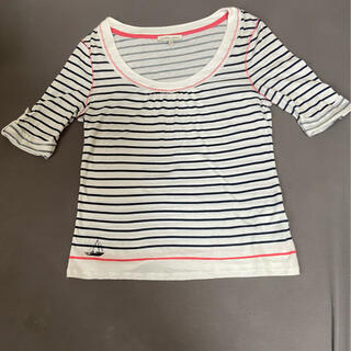 ローラアシュレイ(LAURA ASHLEY)のローラアシュレイ ボーダーTシャツ(Tシャツ(半袖/袖なし))