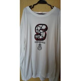 シマムラ(しまむら)のしまむらのスパイダーマンの5Lの ロングティーシャツ(Tシャツ/カットソー(七分/長袖))