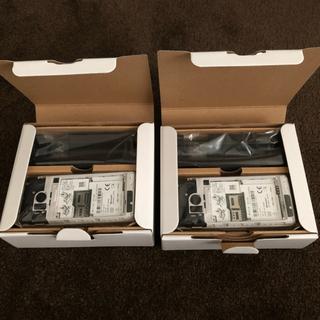 アクオス(AQUOS)のAQUOSケータイSH 02L ゴールド 2台(携帯電話本体)