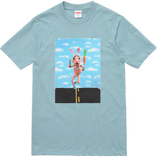 シュプリーム(Supreme)のSupreme Mike Hill Runner Tee Slate L(Tシャツ/カットソー(半袖/袖なし))