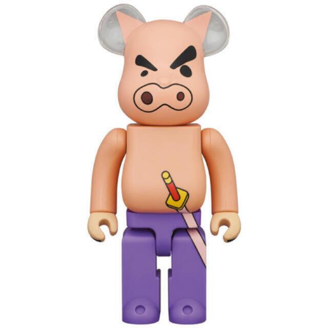 MEDICOM TOY(メディコムトイ)のBE@RBRICKぶりぶりざえもん400% ハンドメイドのおもちゃ(フィギュア)の商品写真