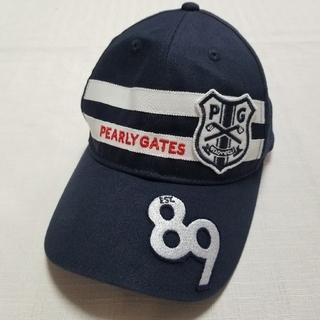 パーリーゲイツ(PEARLY GATES)のパーリーゲイツキッズ キャップ(帽子)