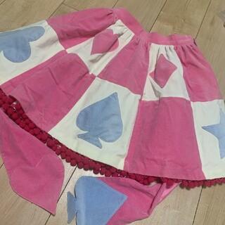 アンジェリックプリティー(Angelic Pretty)のアンジェリックプリティ トランプカーニバル 別珍 スカート(ひざ丈スカート)
