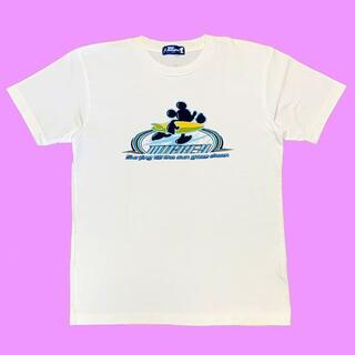 ミッキーマウス(ミッキーマウス)のディズニーランド ミッキー マウス サーフィン Tシャツ MICKEY (Tシャツ/カットソー(半袖/袖なし))