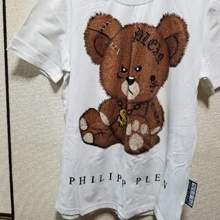ルシアンペラフィネ(Lucien pellat-finet)のPHILIPP PLEIN  Tシャツ(Tシャツ/カットソー(半袖/袖なし))