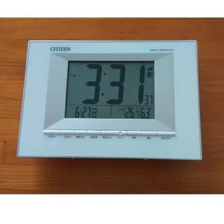 CITIZEN - シチズン  電波時計 置き時計 掛け時計にもなります
