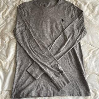 ラルフローレン(Ralph Lauren)のラルフローレン ロングTシャツ グレー(Tシャツ/カットソー(七分/長袖))