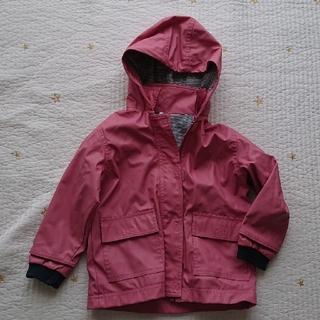 プチバトー(PETIT BATEAU)のプチバトー 3歳 ピンク ヨットパーカー ジャケット レインコート (ジャケット/上着)