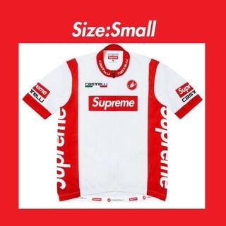 シュプリーム(Supreme)の白 S Supreme x Castelli Cycling Jersey(ジャージ)