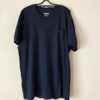 ダコタ(Dakota)のDAKOTA 紺色Tシャツ(Tシャツ/カットソー(半袖/袖なし))