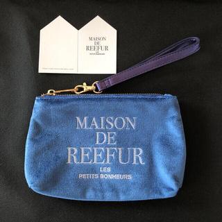 メゾンドリーファー(Maison de Reefur)のメゾンドリーファーのポーチ ネイビー(ポーチ)
