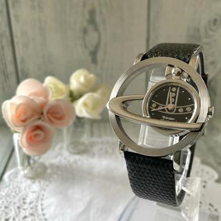 ヴィヴィアンウエストウッド(Vivienne Westwood)の【動作OK】vivienne ヴィヴィアン 腕時計 サークルオーブ シルバー(腕時計(アナログ))