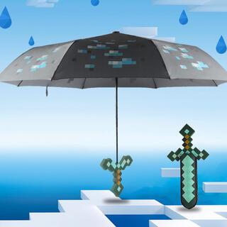 『新品未使用』マインクラフト 折りたたみ傘(傘)