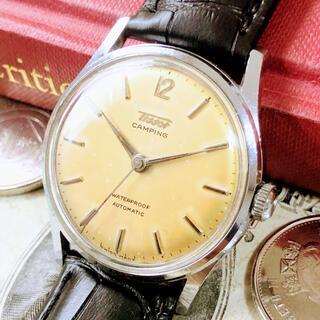 ティソ(TISSOT)の#1505【シックでお洒落】メンズ 腕時計 ティソ 動作良好 ヴィンテージ (腕時計(アナログ))