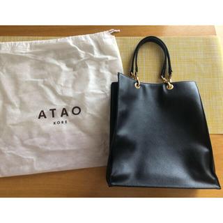 アタオ(ATAO)のアタオ/ココット/ブラック(トートバッグ)