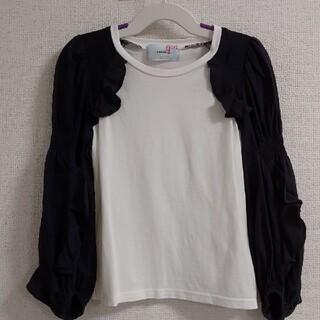 スナイデル(snidel)のsnidel スナイデルガール  110cm  キッズ トップス ロングTシャツ(Tシャツ/カットソー)