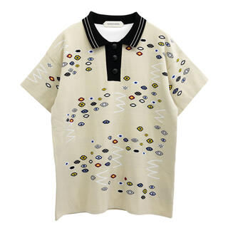 ラフシモンズ(RAF SIMONS)のNAMACHEKO SNACKORNA POLO / ECRU  (ポロシャツ)