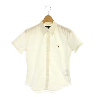 ラルフローレン(Ralph Lauren)のラルフローレン SPORTS 半袖シャツ ボタンダウン 刺繍 9 白(その他)