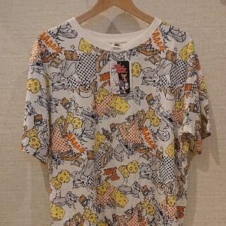 トムとジェリー  Tシャツ【新品・タグ付き】2XL(3L)  ゆうパケット発送♪(Tシャツ/カットソー(半袖/袖なし))