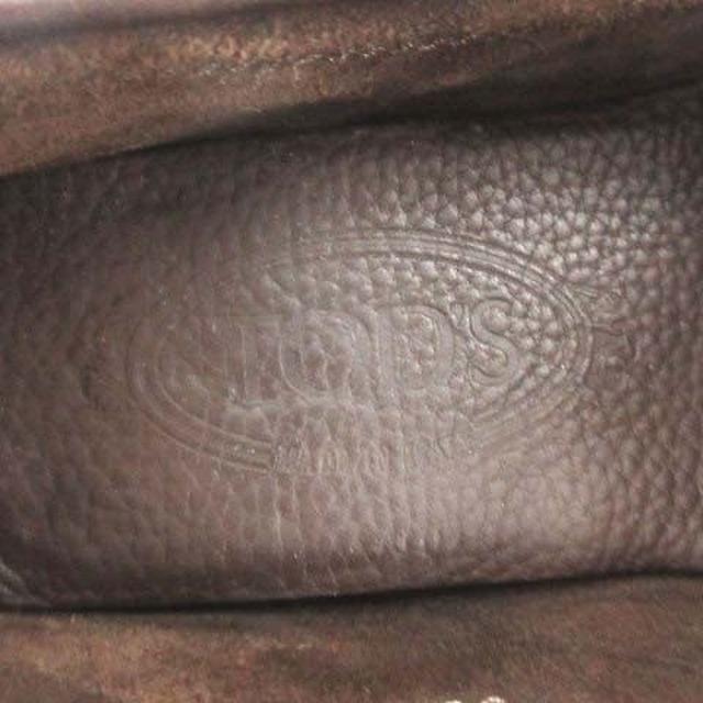 TOD'S(トッズ)のトッズ TOD'S ドライビングシューズ レザー 36.5 23.5cm 茶 レディースの靴/シューズ(その他)の商品写真
