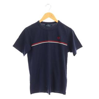 フレッドペリー(FRED PERRY)のフレッドペリー 半袖 Tシャツ 刺繍 S 紺 ネイビー /MY ■OS(その他)