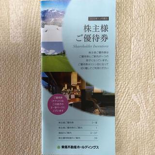 ★東急不動産 株主優待券 1冊 500〜1,000株(その他)