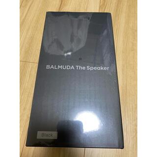 バルミューダ(BALMUDA)の専用 BALMUDA The Speaker M01A-BK 新品未開封品(スピーカー)