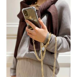 ドゥーズィエムクラス(DEUXIEME CLASSE)のPHONIE   GOLDチェーンiphoneケース6/6s/7/8/SE (iPhoneケース)
