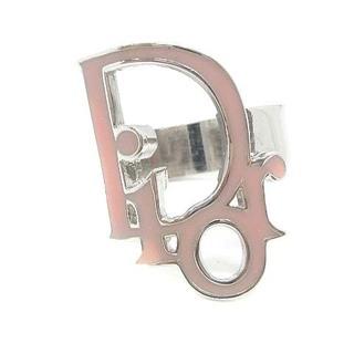 ディオール(Dior)のディオール Dior 指輪 リング ロゴ 9号 シルバー色 ピンク /EK(リング(指輪))