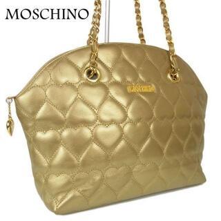 モスキーノ(MOSCHINO)のモスキーノ ハート キルティング 肩掛け チェーン ショルダー バッグ(ショルダーバッグ)