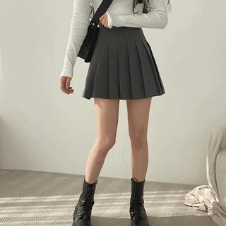 スタイルナンダ(STYLENANDA)の【予約商品】《2カラー》シンプル プリーツ ミニスカート 韓国ファッション(ミニスカート)