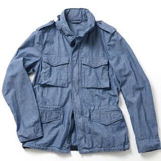 アスペジ(ASPESI)の別注 ASPESI  アスペジ シャンブレー M-65 ジャケット シャツ(ミリタリージャケット)