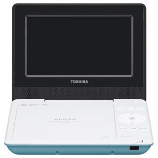 トウシバ(東芝)のTOSHIBA REGZA ポータブルDVDプレーヤー  SD-P710SG  (ポータブルプレーヤー)
