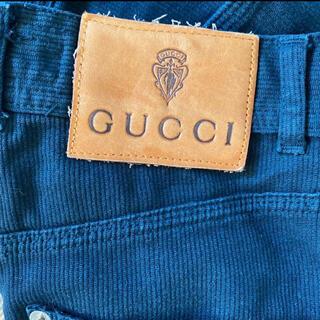 グッチ(Gucci)のグッチ ブラック ジーンズ デニム ヴィンテージ(デニム/ジーンズ)