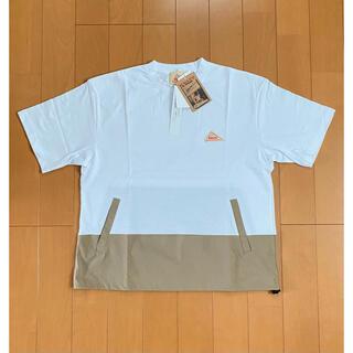 ケルティ(KELTY)の新品 KELTY ケルティー 別注 デザイン プルオーバー 白 L(Tシャツ/カットソー(半袖/袖なし))