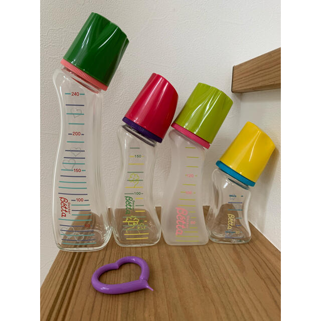 VETTA(ベッタ)のベッタ哺乳瓶 betta キッズ/ベビー/マタニティの授乳/お食事用品(哺乳ビン)の商品写真