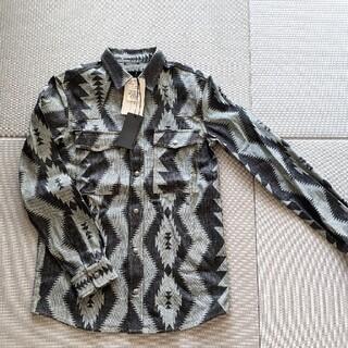 ディーゼル(DIESEL)の新品タグ付き DIESEL BLACK GOLD シャツ イタリア製 未使用(シャツ/ブラウス(長袖/七分))