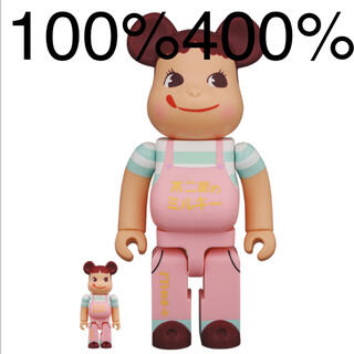 メディコムトイ(MEDICOM TOY)のベアブリック ペコちゃん 400% 100%(その他)