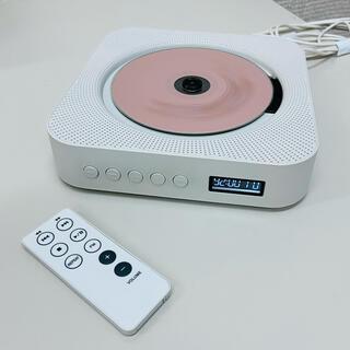 ムジルシリョウヒン(MUJI (無印良品))の無印良品  CPD-4 壁掛けCDプレーヤー リモコン付き 中古品 動作確認済(ポータブルプレーヤー)