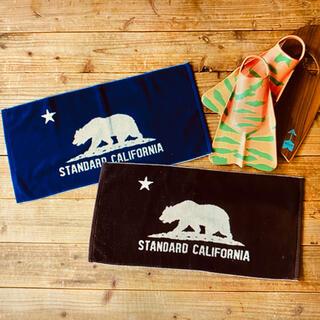 スタンダードカリフォルニア(STANDARD CALIFORNIA)の送料込み.STANDARD CALIFORNIA.今治ハンドタオル新品未使用品(その他)
