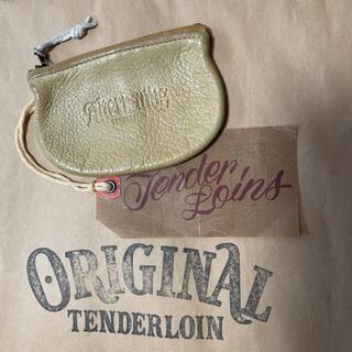 テンダーロイン(TENDERLOIN)の人気品!TENDERLOIN コインケース ディアスキン イエロー 黄色 レザー(コインケース/小銭入れ)