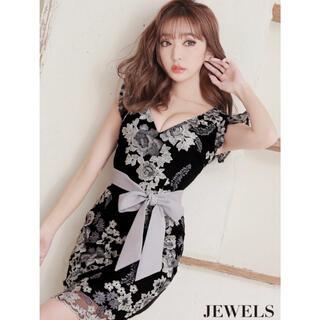 JEWELS - JEWELS キャバドレス 刺繍  ミニドレス  ドレス タイト ワンピース