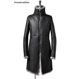 ISAMUKATAYAMA BACKLASH - incarnation sheep shearling mouton coat